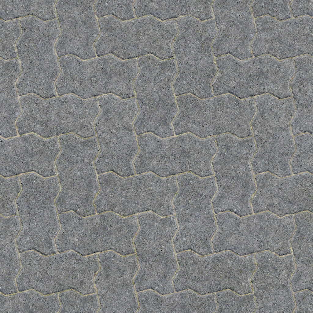 High Resolution Seamless Textures: Tileable concrete brick ...