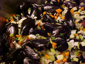 Moules au vin blanc Viviane