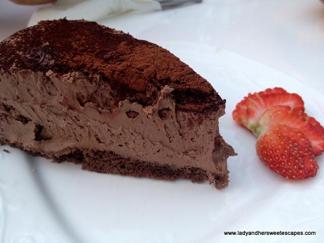 Arabian Tea House Chocolate Cake