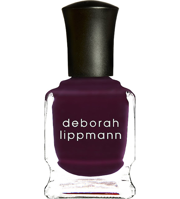 deborah lippmann independent nail polish, purple nail polish selfridges,