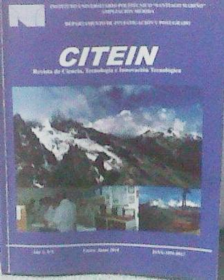 Revista CITEIN - Año 3 Nº 5