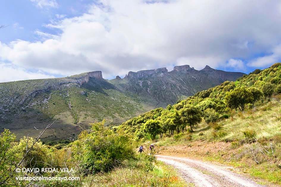 Moncayo senderismo trekking