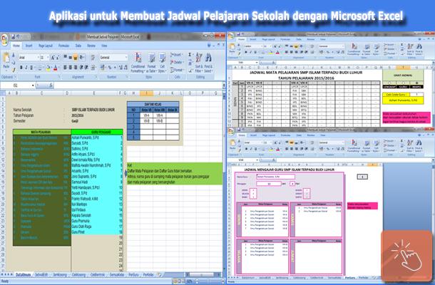 Download Aplikasi untuk Membuat Jadwal Pelajaran Sekolah dengan Microsoft Excel