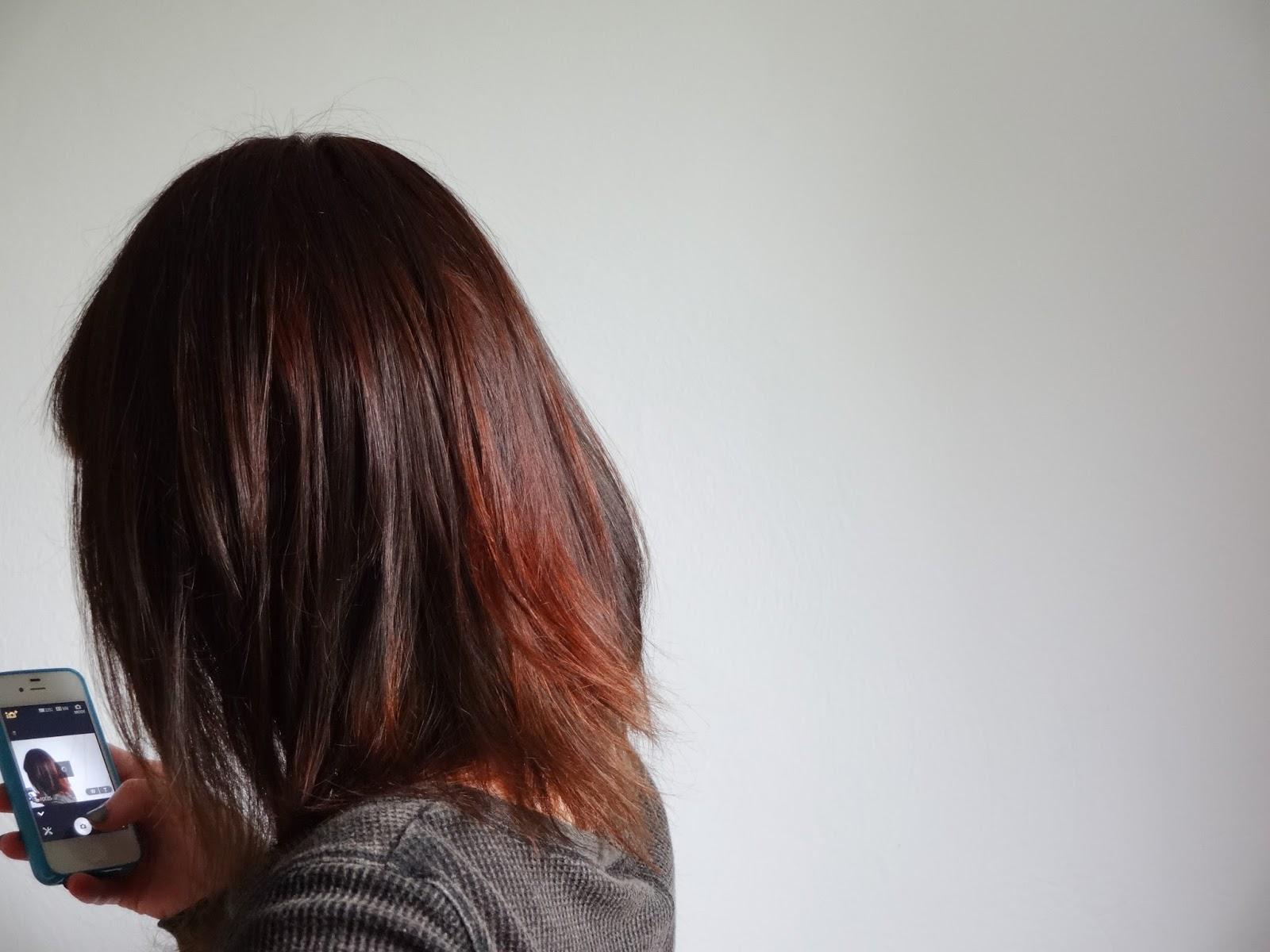 Bombasine Dyeing Dark Brown Hair With Henna