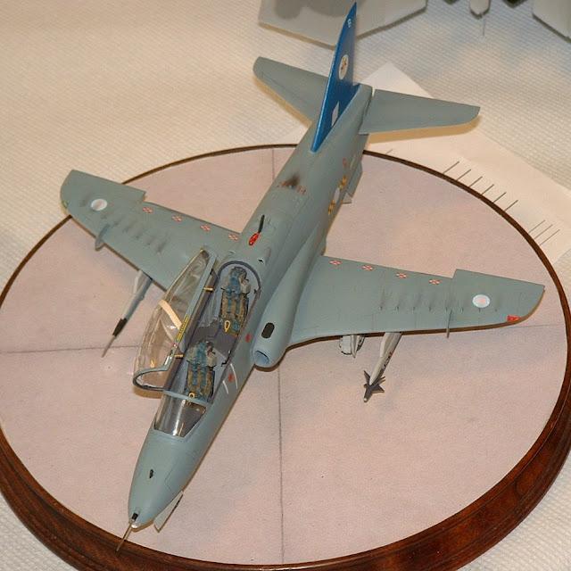 RAF Hawk model kit photo