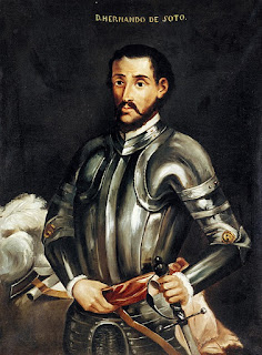 Retrato de Hernando de Soto