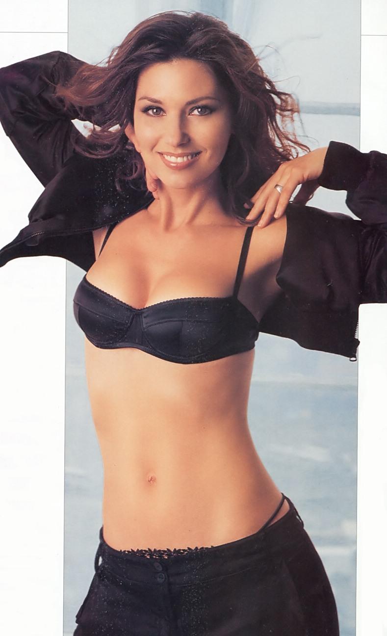 Shania Twain Hot & Sexy Bikini
