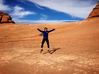 Priscilla Chan in desert