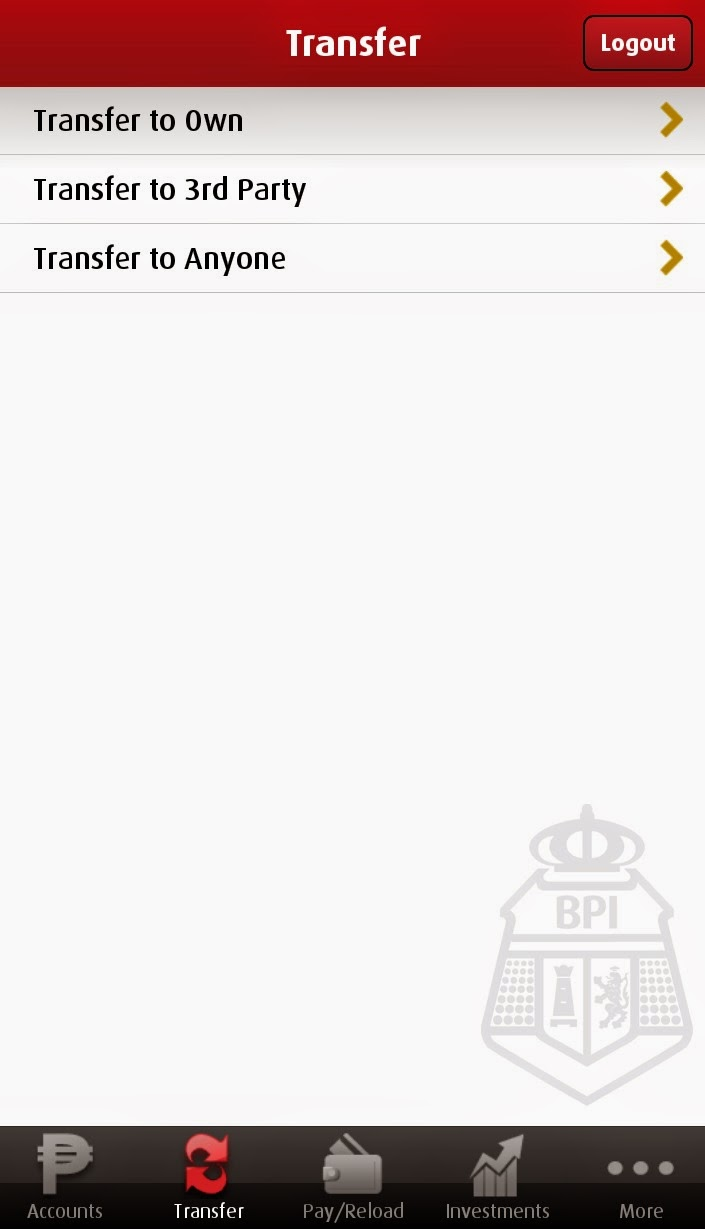 Steps to Activate Transfer to Anyone on BPI Mobile App