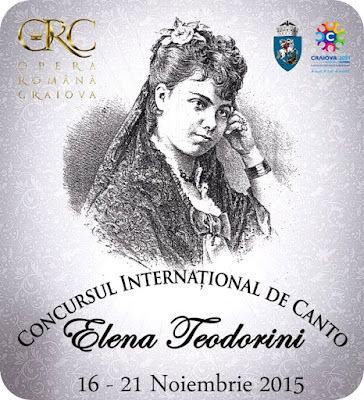 "Concursul International de canto ""Elena Teodorini"""
