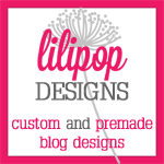 Lilipop Designs | Custom and Premade Blog Design