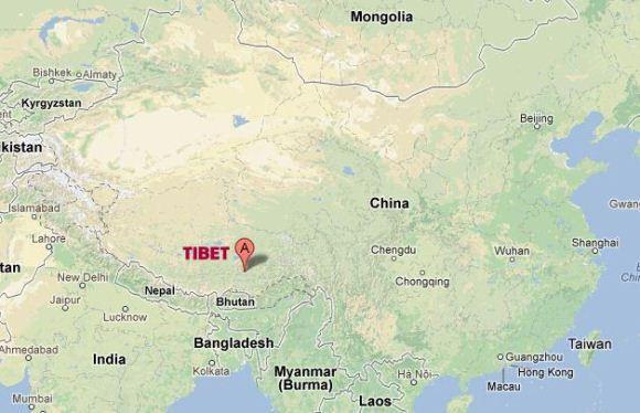 Peta Tibet