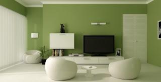 warna+hijau+untuk+ruang+tamu Warna Hijau Ruang Keluarga