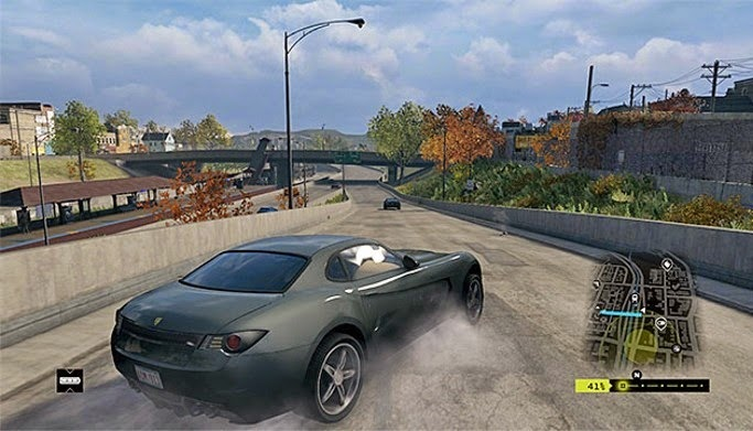 escape from police in watch dog game