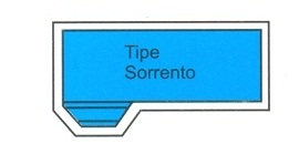 desain kolam renang tipe sorrento