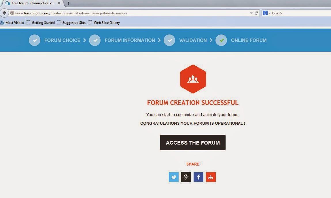 Applikasi android update : Cara Membuat Forum Gratis Dan Mudah
