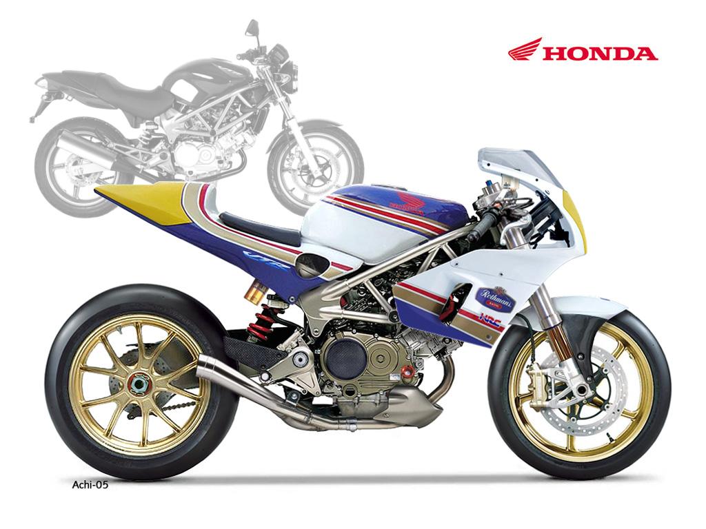 Honda Cbr  Cylindre Cafe Racer