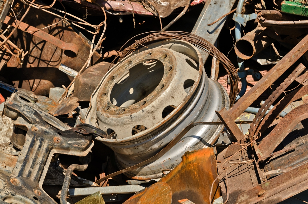 Steel Scrap Metal : How to make millions from scrap metal and aluminum supply