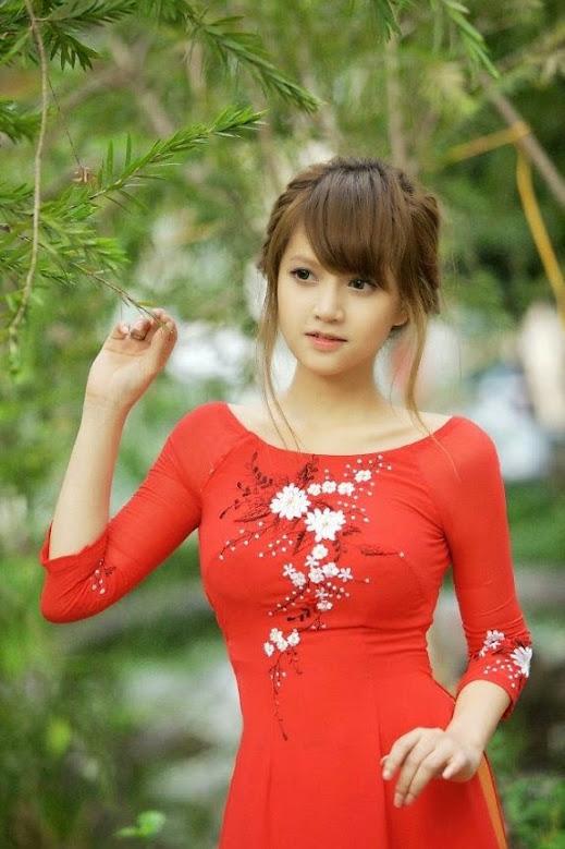 Hot girls việt nam với áo dài truyền thống phần 3 28