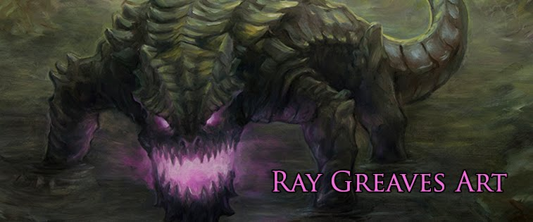 Ray Greaves Art Blog