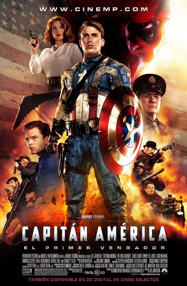 Capitan America..El primer vengador Capitan_America_Poster_Espanol_2011