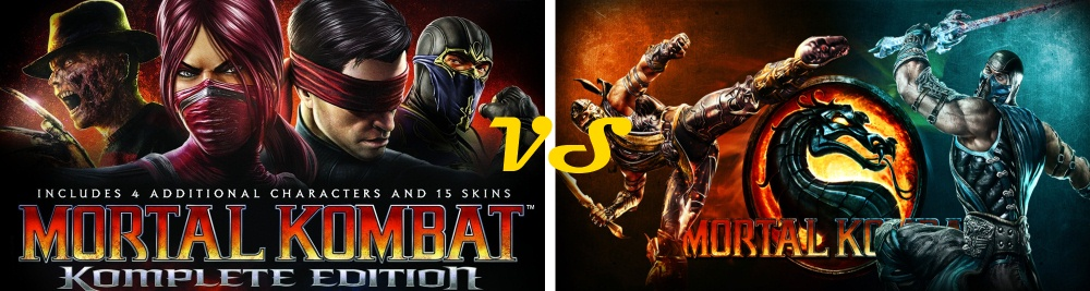 Is Mortal Kombat Komplete Edition Better than Mortal Kombat 9 Photo