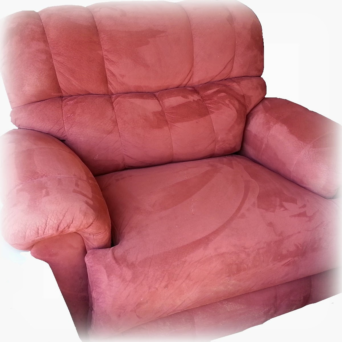 Sold Oversized La Z Boy Chair And A Half Recliner Nw Okc