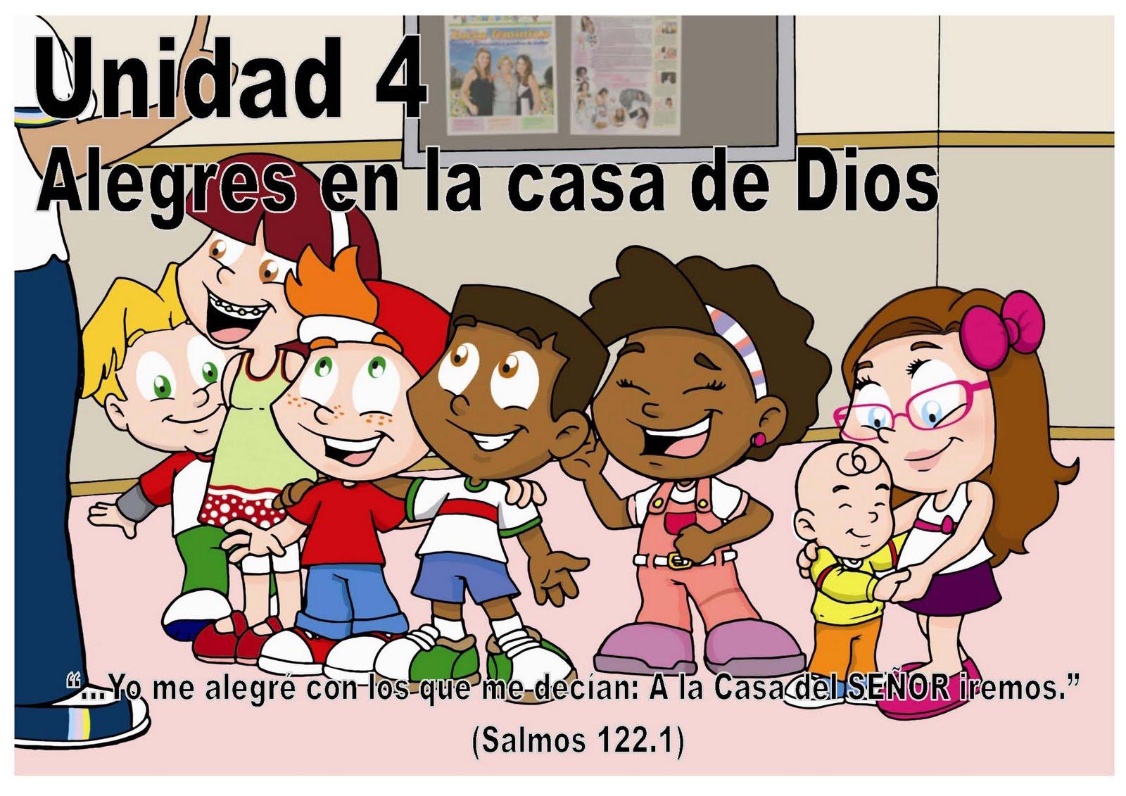 Unidad 4 alegres en la casa de dios escuelita biblica infantil - Casa de los espiritus alegres ...