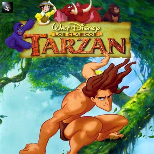 La pelicula de animación de Tarzan por parte de Disney