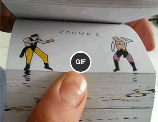 Handmade Mortal Kombat Flipbook