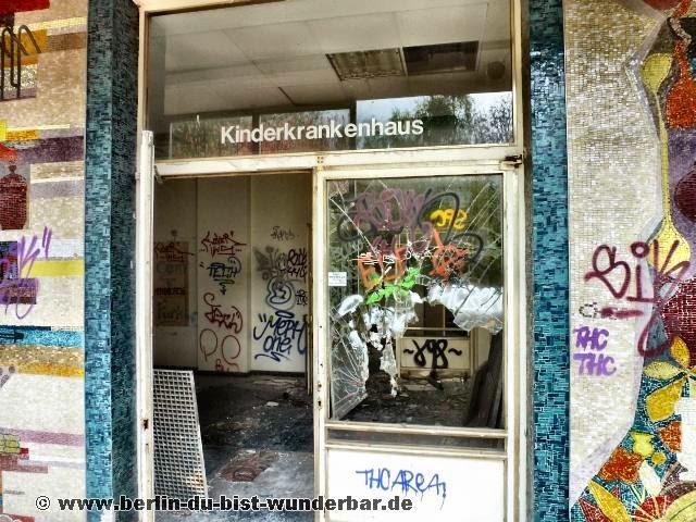 Ehemalige, Frauenklink, Kinderklinik, Neukölln, Berlin