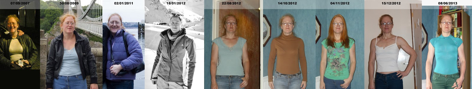 My Weight & Toning Timeline
