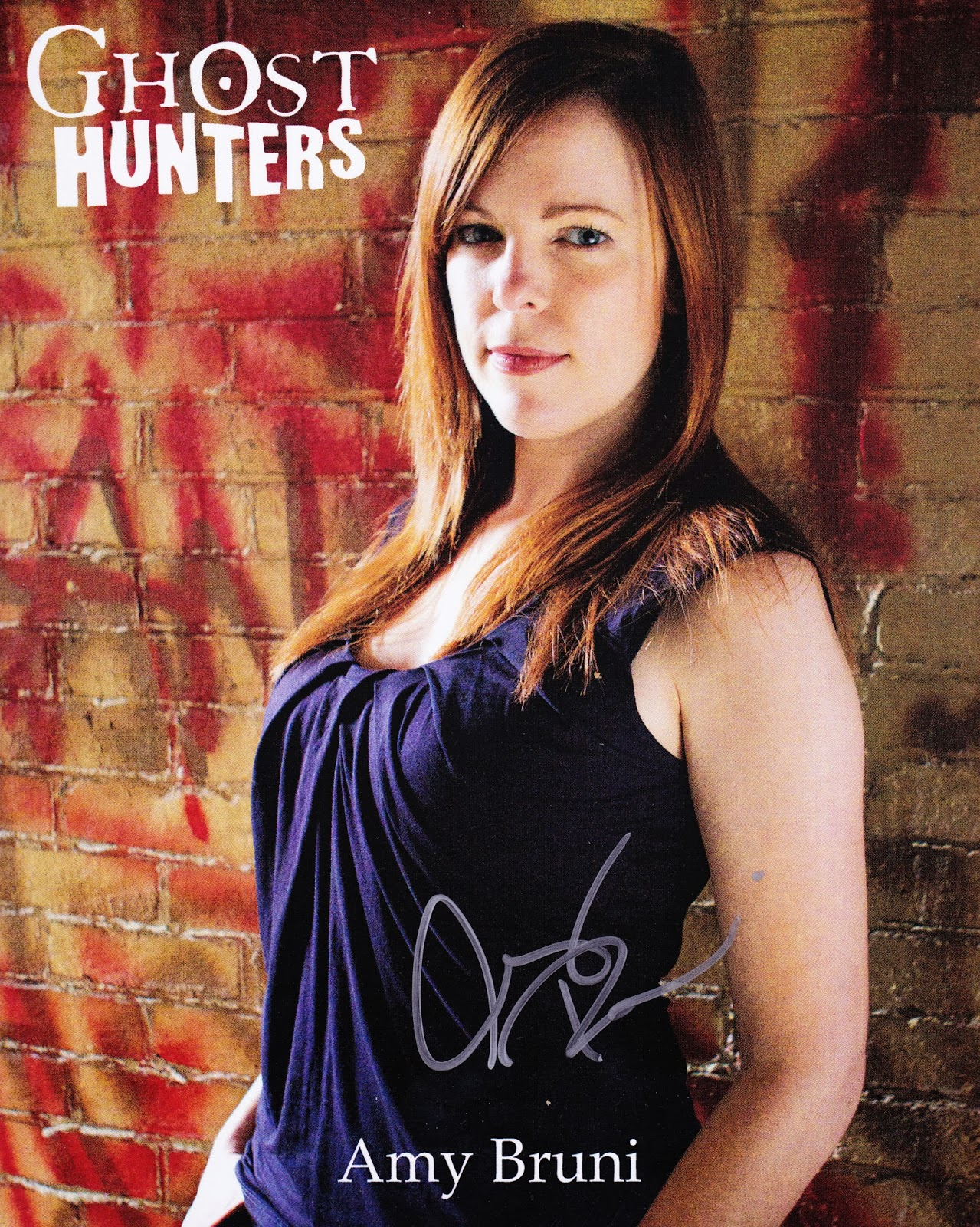 Amy Bruni Wizardworld 2013 Ghosthunters on december 2013 winter weather