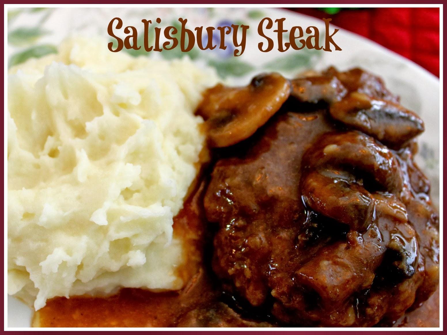 Sweet Tea and Cornbread: Aunt Ann's Salisbury Steak and Gravy!