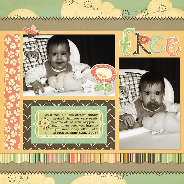 Special Needs_Cerebral Palsy_Scrapbook Page