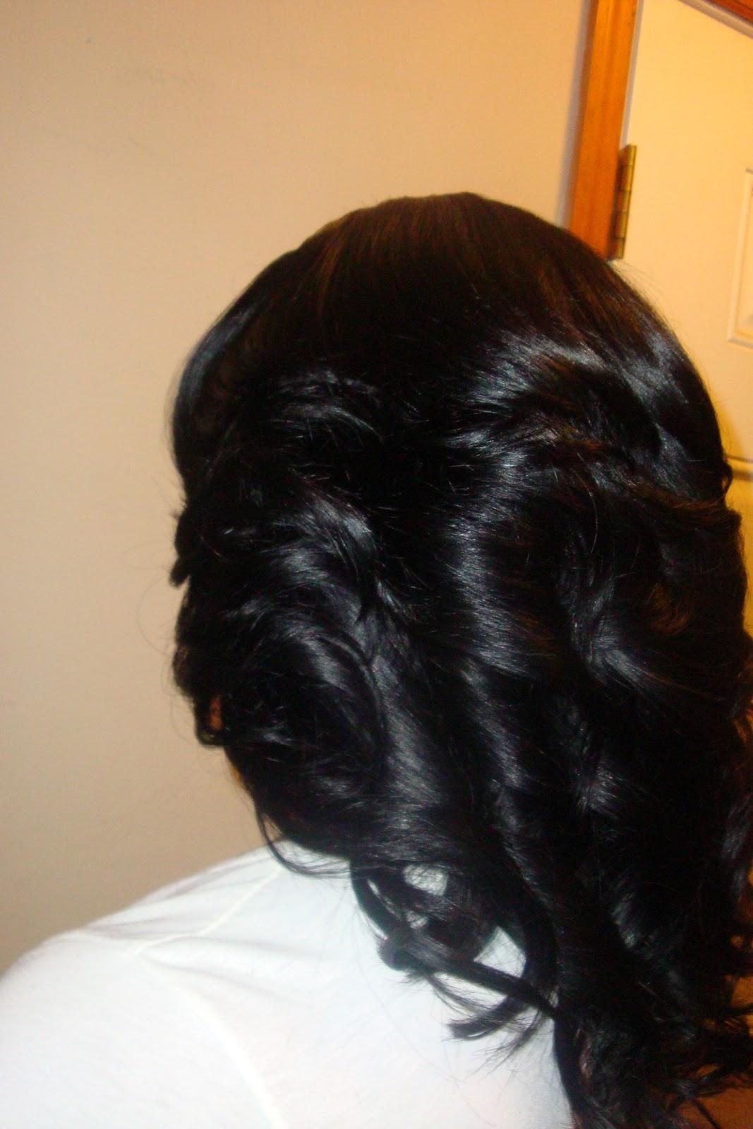 Straight Layered Hair