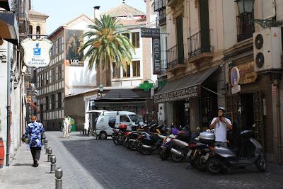 Elvira street in Granada