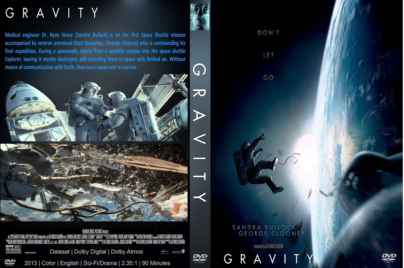 Gravity|2013|3D SBS|8GB|Audio Dual|Lat/Eng|5.1