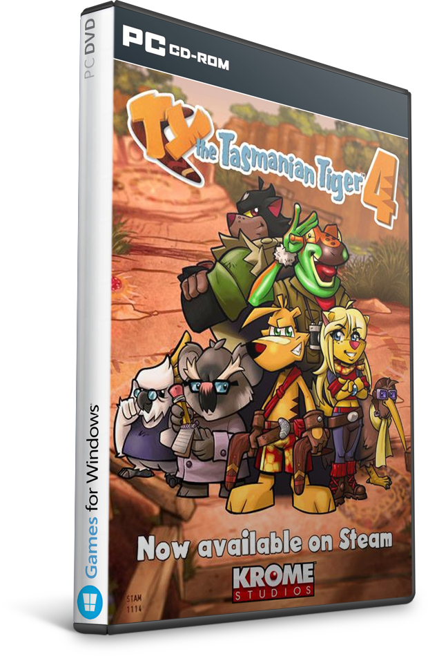 TY The Tasmanian Tiger 4 Free Download Crack PC Game