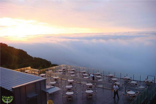 Terrace Unkai – A Magical Place Above the Clouds