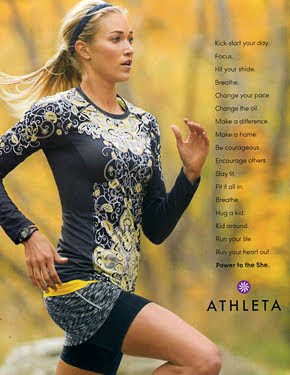 Athleta Model Lauren Collins
