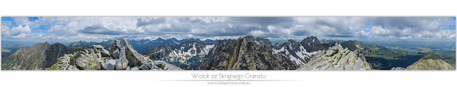 Skrajny Granat - Orla Perć - Panorama