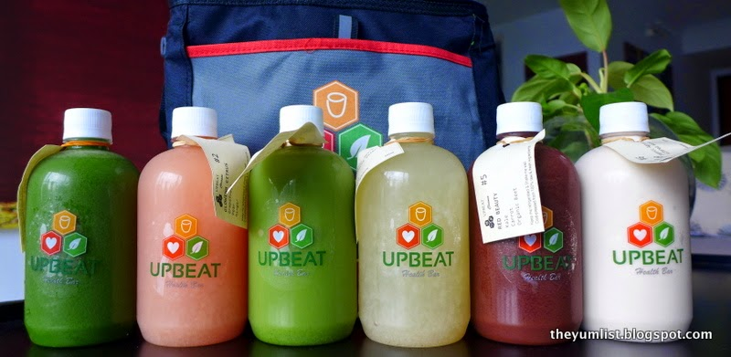 Upbeat Health Bar, Healthy Wraps, Shakes & Juice Cleanse Delivery, Avenue K, Kuala Lumpur