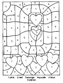 Coloriage simple code pour les petits enfants a imprimer