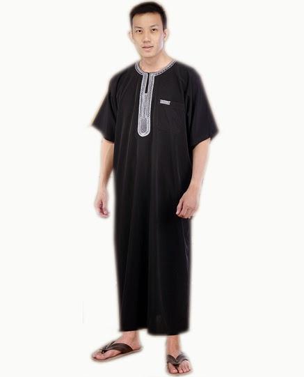 Baju gamis pria panjang