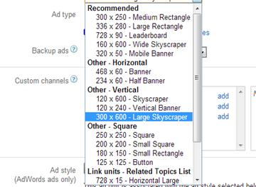 adsense-ads-size