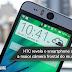 HTC revela o smartphone com a maior câmera frontal do mundo