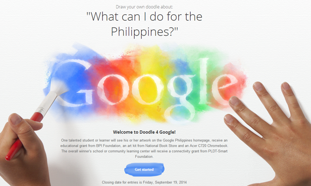 "DepEd Calls Students to Join Doodle 4 Google ""What can I do for the Philippines?"" 2014"