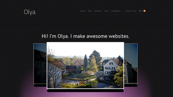 Olya Wordpress Theme Free Download by WooThemes.