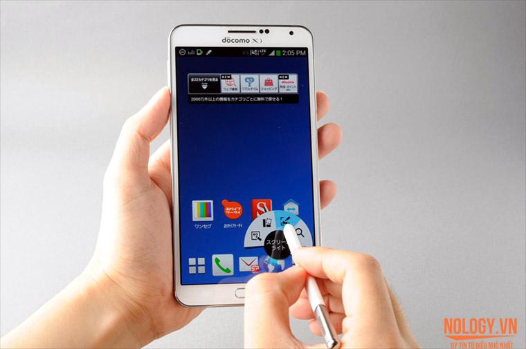 Galaxy note 3 xách tay với bút S-Pen